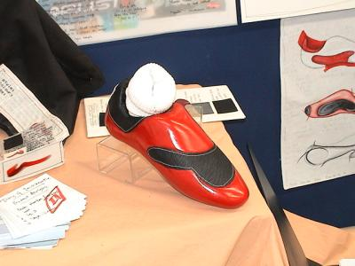 picture of Female Football Boot and Packaging