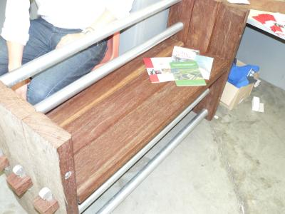 photograph of School Bench Design - click for fullsize image