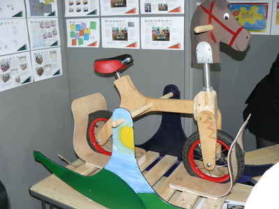 photograph of Hobby Horse See Saw Bike - click for fullsize image