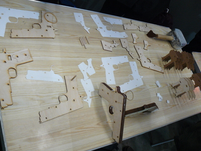 picture of Laser cut toys