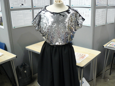 picture of Barbarella inspired 1960s dress