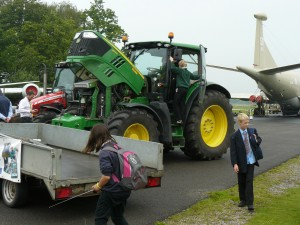 Tractors from Askham Bryan College